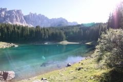 SS241, Karersee, Trentino - Alto Adige, Italia