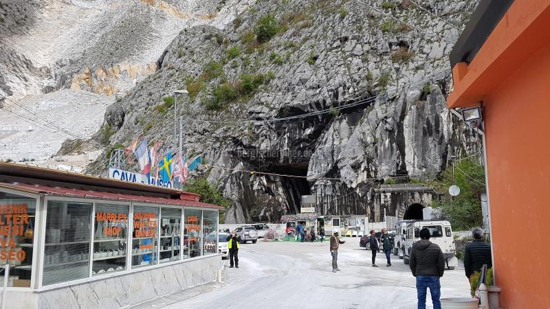 Carrara Steinbruch