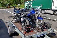 Anreise Toskanatour 2019 mit RuE