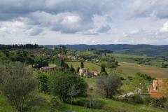 Blick in die Toskana